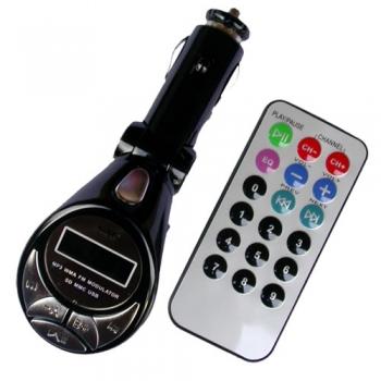 Transmissor Wireless FM MP3 TRA9 - OEM