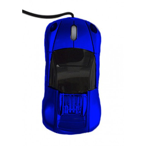 Mouse carro Optico usb Bugatti Azul GM-S200 - -