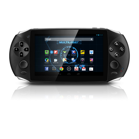 Tablet Gamer Tela Capacitiva 5´ com Android 4.4, Dual Core 1.2GHz, 1GB DDR3, 8GB, 2MP, HDMI - NB128 - Multilaser