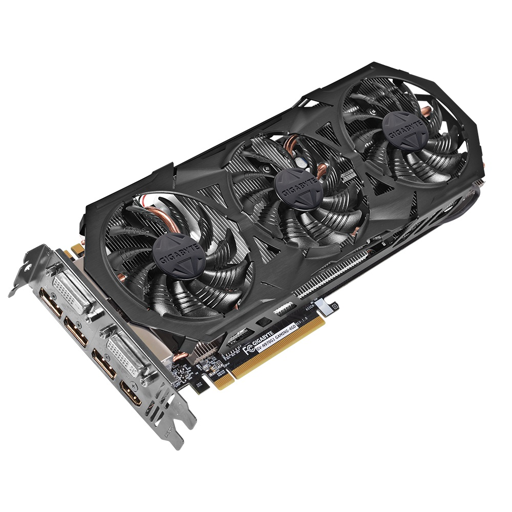Placa de Vídeo Geforce GTX970 4GB GDDR5 256Bit GV-N970G1 Gaming-4GD - Gigabyte