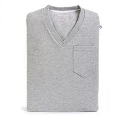 Case para NoteBook 15 V-Neck Sleeve (Camiseta Gola V) Cinza CA-VN15-GR - Computer Apparel