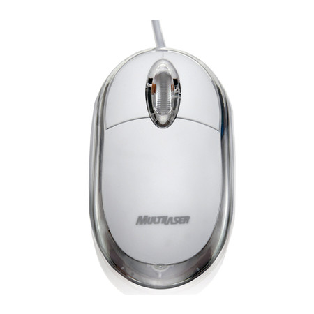 Mouse USB Optico Gelo MO034 - Multilaser