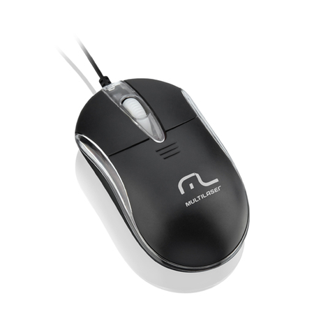 Mouse USB Classic II Preto MO169 - Multilaser