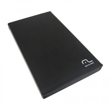 Case HD 2,5 Aluminio USB 2.0 GA122 - Multilaser