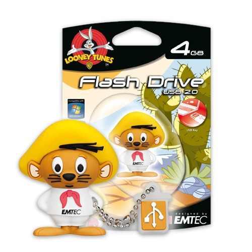 Pen Drive 4GB Looney Tunes Ligeirinho - Emtec