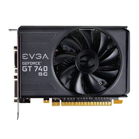 Placa de Vídeo Geforce GT740 2GB Super Clock 128Bit DDR3 02G-P4-2743-KR - EVGA