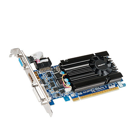 Placa de Vídeo GeForce GT610 2GB DDR3 Low Profile GV-N610D3-2GI - Gigabyte