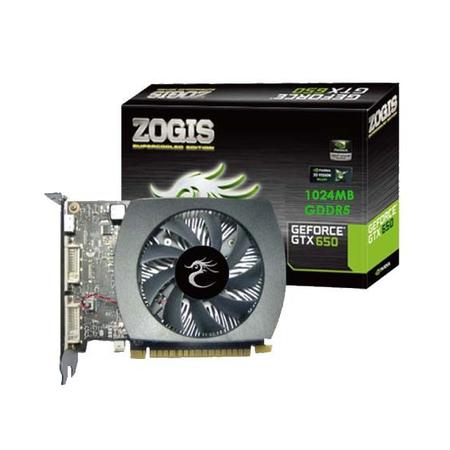Placa de Vídeo GeForce GTX650 2GB DDR5 128bits ZOGTX650-2GD5H - Zogis