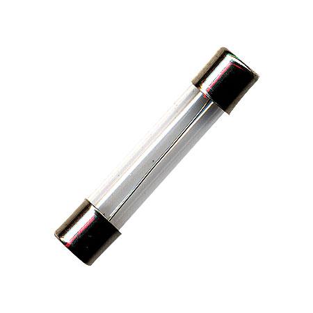 Fusível Tubo de Vidro Capacete Latão 8A 20AGLF Pequeno a unidade 2714 - OEM