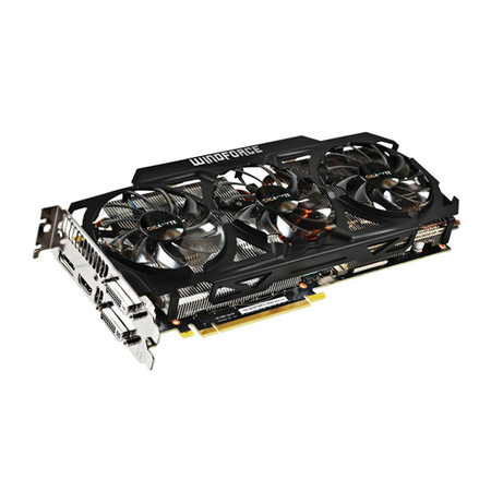 Placa de Vídeo Geforce GTX780TI 3GB DDR5 Windforce 384Bit GV-N78TWF3-3GD - Gigabyte