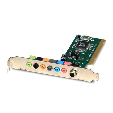 Placa de Som PCI 7.1 CH Chipset Via ENM232-8CMI - Encore