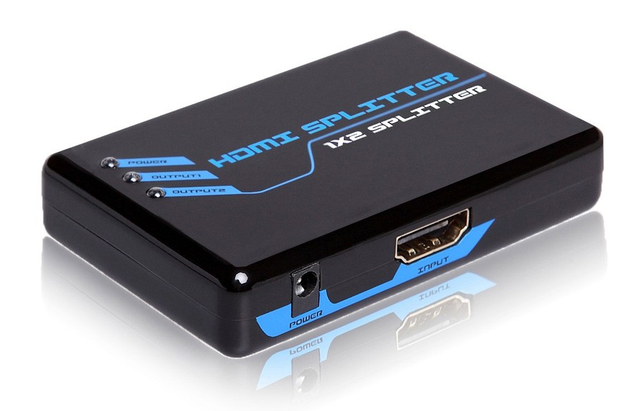 Conversor de 1 entrada HDMI para 2 saídas HDMI Padrão 1.4 (Splitter) - G.C
