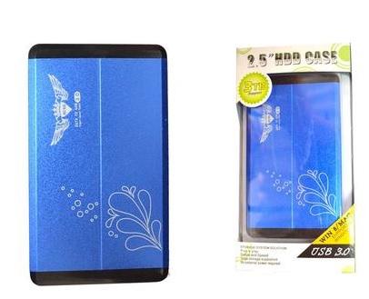 Case 2,5 USB 3.0 de Alumínio Azul CS0007AZ - Fly Ace