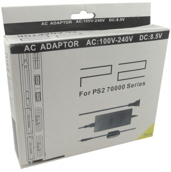 Fonte Bivolt Para PS2 AC Playstation 2 Slim Series 70000
