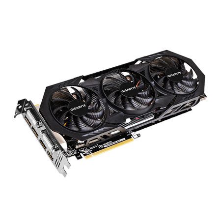 Placa de Vídeo Geforce GTX970 4GB OC Windforce 3x DDR5 256Bit GV-N970WF3OC-4GD - Gigabyte