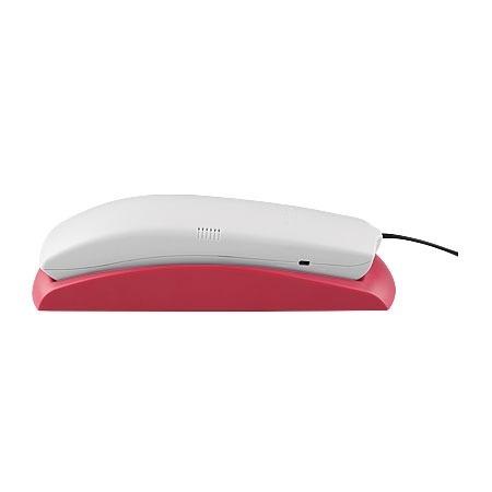 Telefone Gondola Color TC 20 Cinza Artico/Rosa - Intelbras