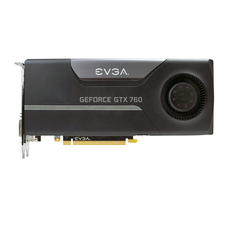 Placa de Vídeo Geforce GTX760 2GB DDR5 SuperClocked 256Bits 02G-P4-2762-KT - EVGA