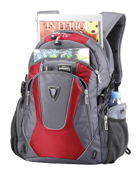 Mochila Notebook 15.6 Full Speed Backpack Vermelha c/ Capa de Chuva PON364RD - Sumdex