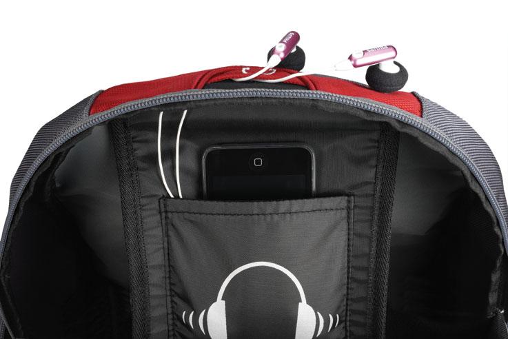 Mochila Notebook 15.6 Full Speed Backpack Vermelha c/ Capa de Chuva PON364RD - Sumdex
