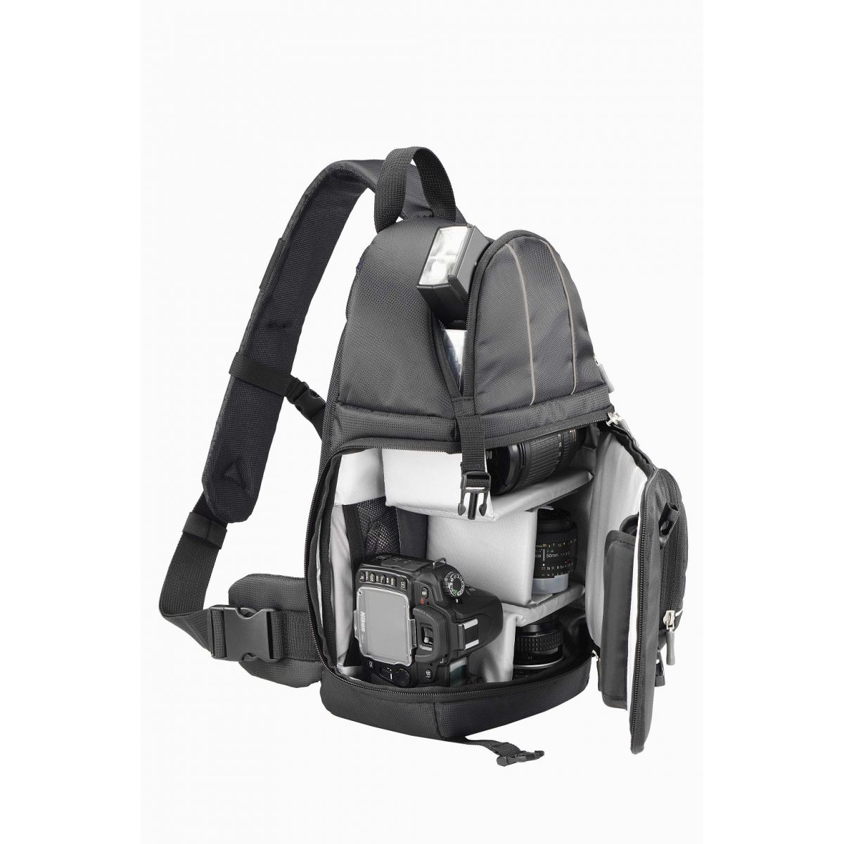 Mochila para Câmera DSLR Xposure II Preta POC484BK - Sumdex