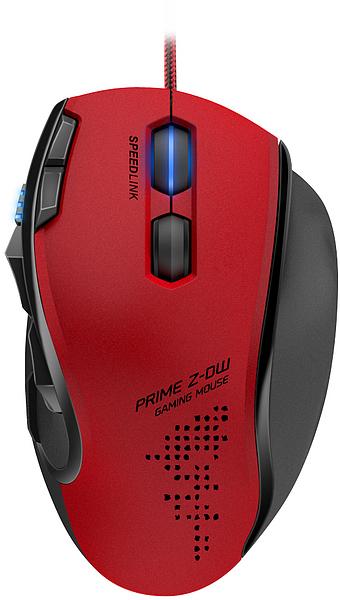 Mouse Gaming Prime Z-DW SL-6390-RD Vermelho - Speedlink