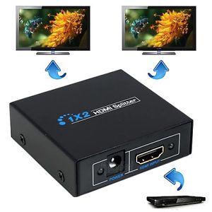 Divisor HDMI(v.1.3) 1 Entrada 2 Saida para TV de LED/LCD/Plasma - G.C
