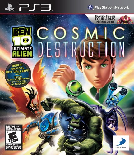 Jogo Ben 10 Ultimate Alien: Cosmic Destruction - PS3