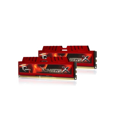 Memória Ripjaws X 8GB (2x4GB) 1333MHz DDR3 F3-10666CL9D-8GBXL - G.SKill