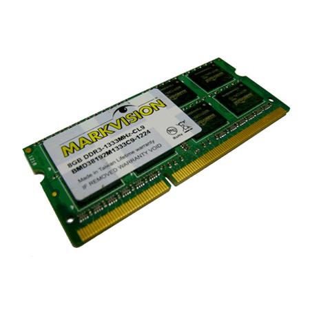 Memória de 8GB DDR3 1333Mhz para Notebook BMD38192M1333C9-1218 - Markvision