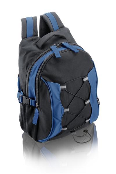 Mochila para Notebook 15 Athletic Preto/Azul BO085 - Multilaser