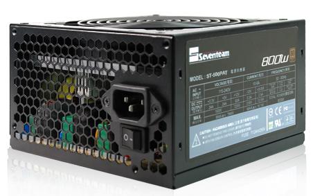 Fonte ATX 800W ST-800PAT 80 Plus Bronze (PFC Ativo) - Seventeam
