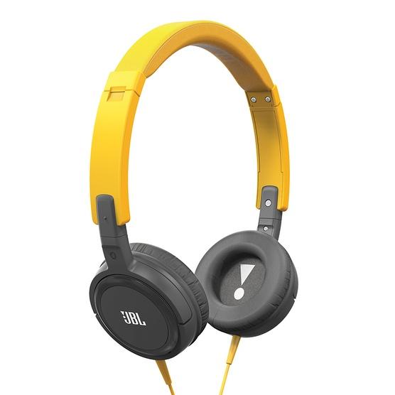 Fone de Ouvido T300A com Microfone Preto/Amarelo T300AYNG - JBL