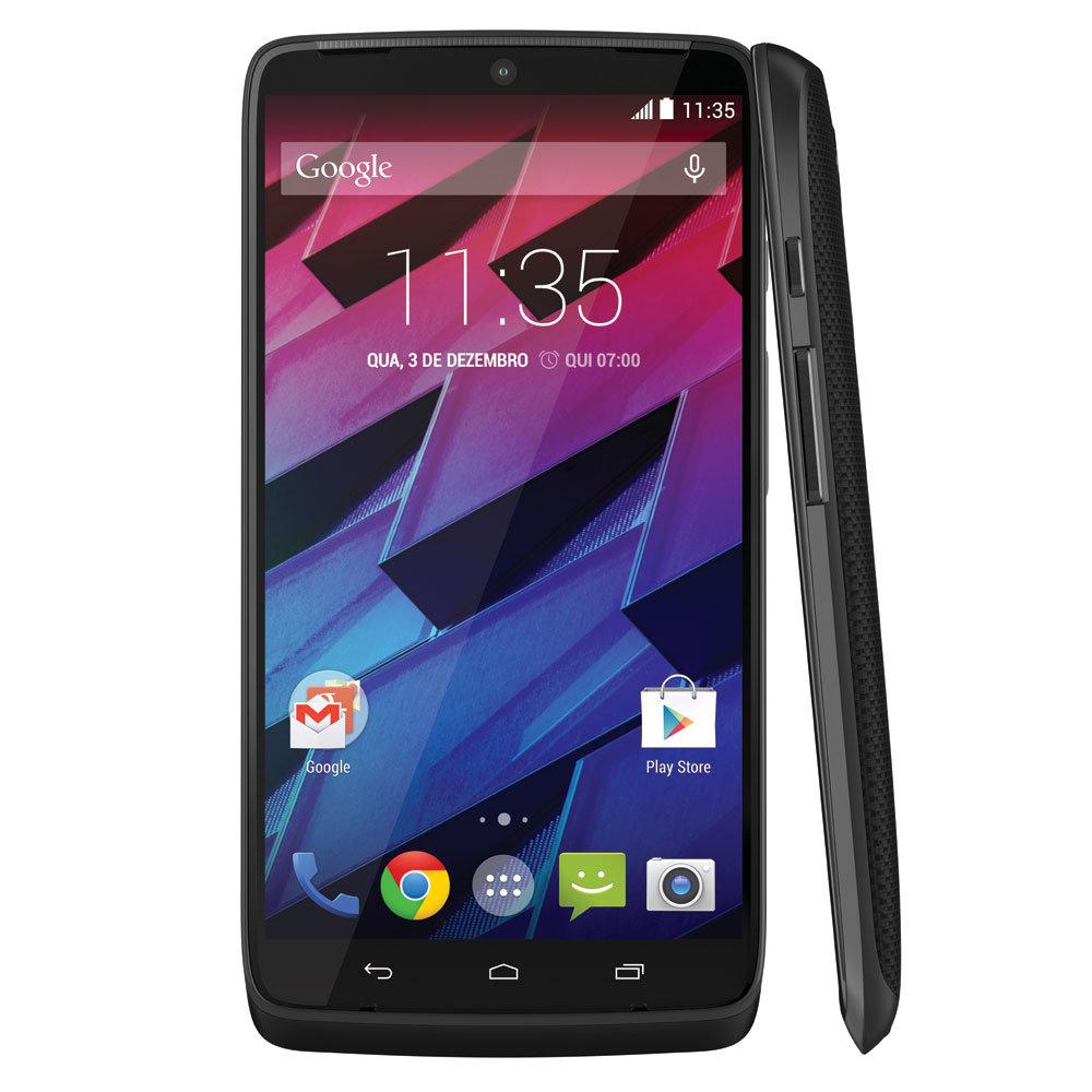 Smartphone Moto Maxx, 4G, 64 GB, Android 4.4, 21MP, Preto XT1225 - Motorola