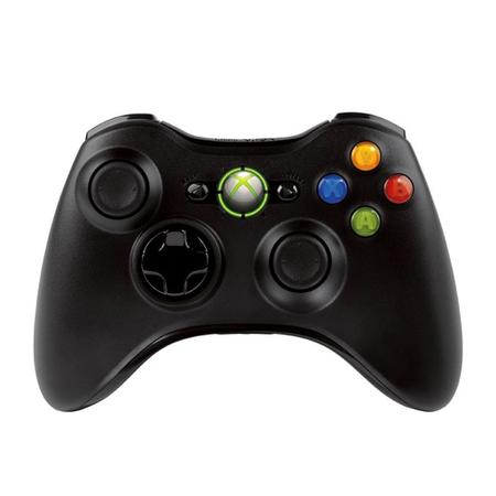 Joystick Xbox 360 Wireless NSF-00023 Preto - Microsoft