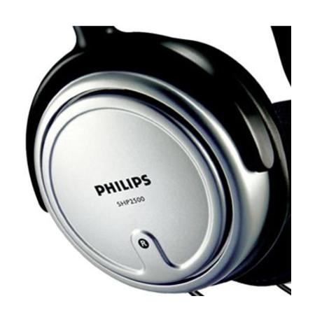 Fone de Ouvido TV/PC SHP2500/10 Cabo com 6 Metros Preto/Prata - Philips