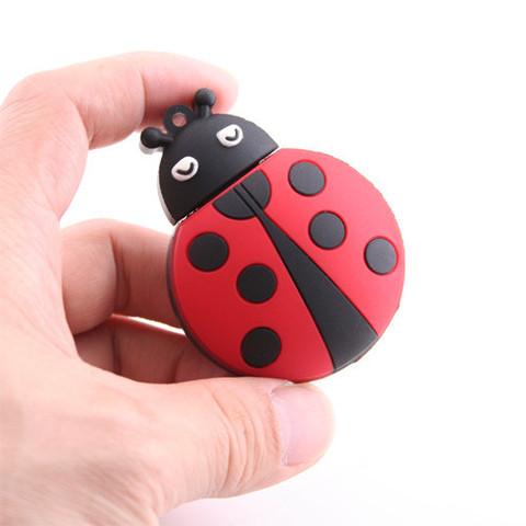 Pen Drive 4GB Lady Bug - Memorex