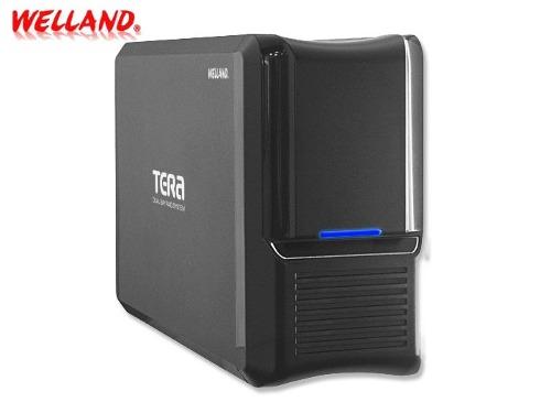 Case para HD 3.5 Tera 2 Baias RAID USB 3.0 ou 2.0 ME-541S - Welland