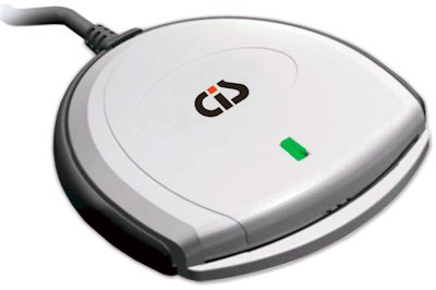 Leitor de Cartão SmartCard SCR-3310 USB - CIS