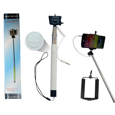 Suporte Para Selfie Com Conexão P2 Branco TP0004W