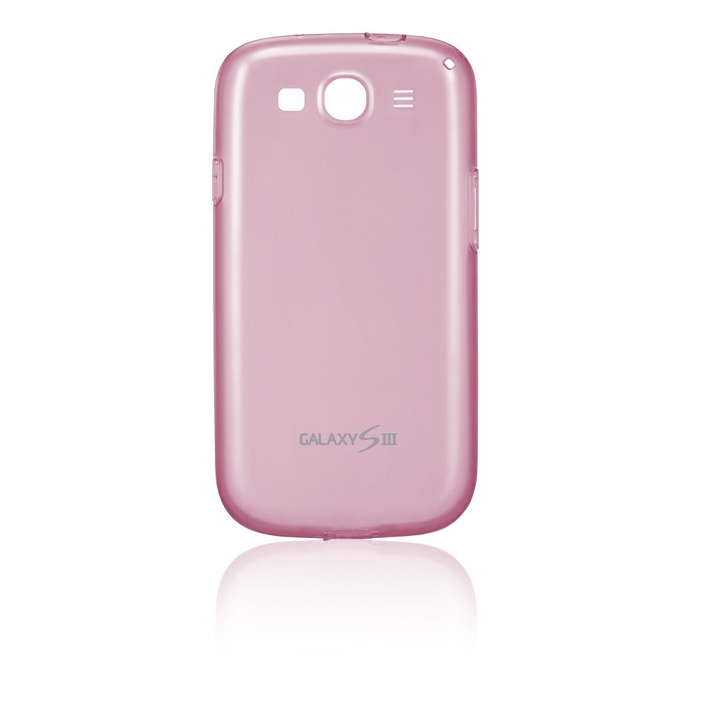 Capa Protetora TPU Galaxy S III Pink EFC-1G6WPECSTD - Samsung