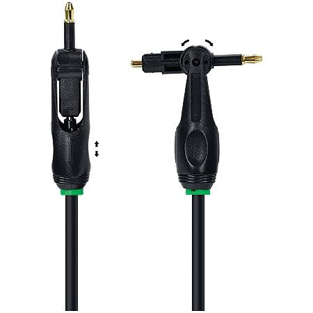 Cabo Fibra Ótica Universal Toslink + Miniplug 1.5 Metros 4786 - OEM