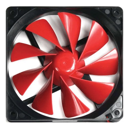 Cooler 140mm TurboFan Preto/Vermelho A2491 - Thermaltake