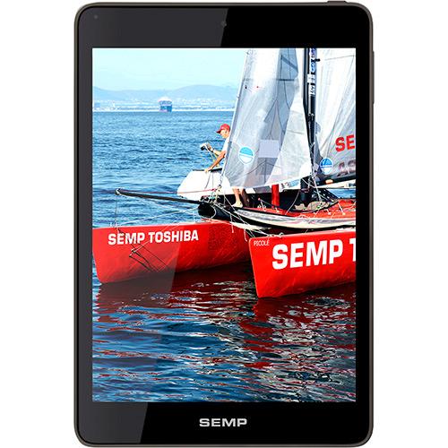 Tablet TA7801W 8GB Wi Fi Tela 7.85 Android 4.2 Processador Cortex A9 Quad Core 1.6 Ghz Cinza - Semp Toshiba