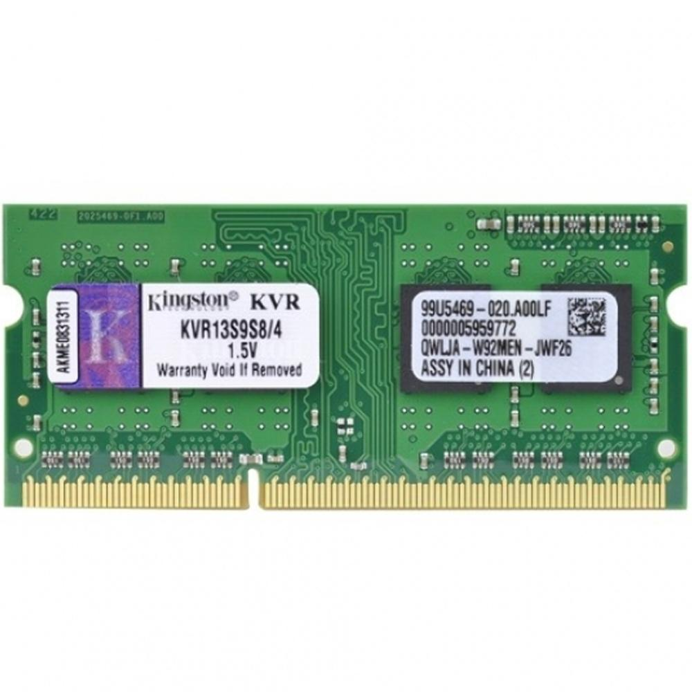 Memória de 4GB para Notebook DDR3 1333Mhz KVR13S9S8/4 - Kingston