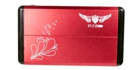Case 2,5 USB 3.0 de Alumínio Vermelho CS0007R - Fly Ace