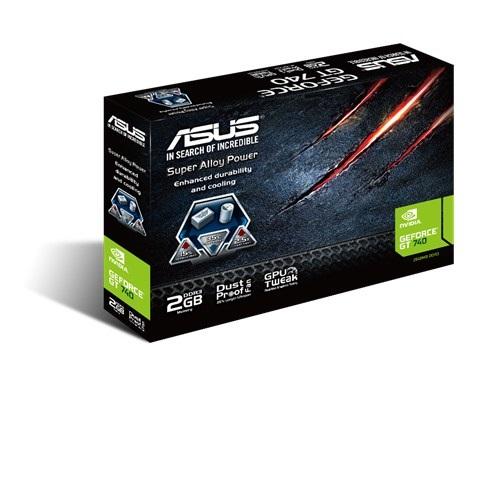 Placa de Vídeo Geforce GT740 2GB DDR3 128Bits GT740-2GD3 - Asus