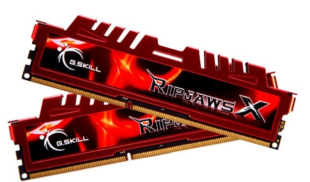 Memória 16GB (2X8GB) Ripjaws X DDR3 F3-12800CL10D-16GBXL - G.SKill