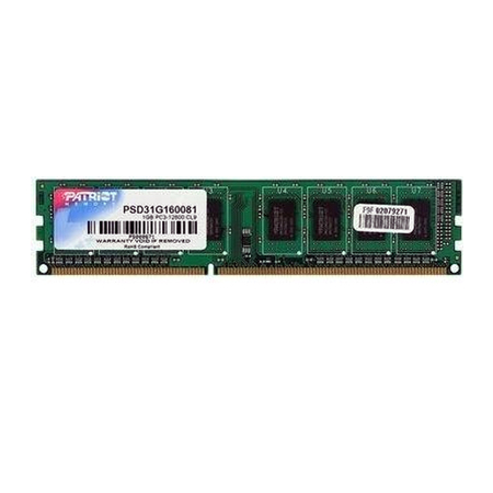 Memória 2GB 1333MHz DDR3 PSD32G133381 - Patriot