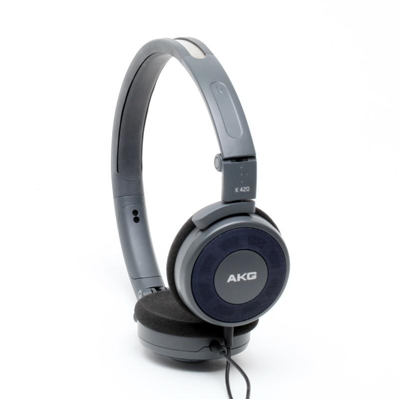 Fone de Ouvido K420 Cinza/Azul - AKG