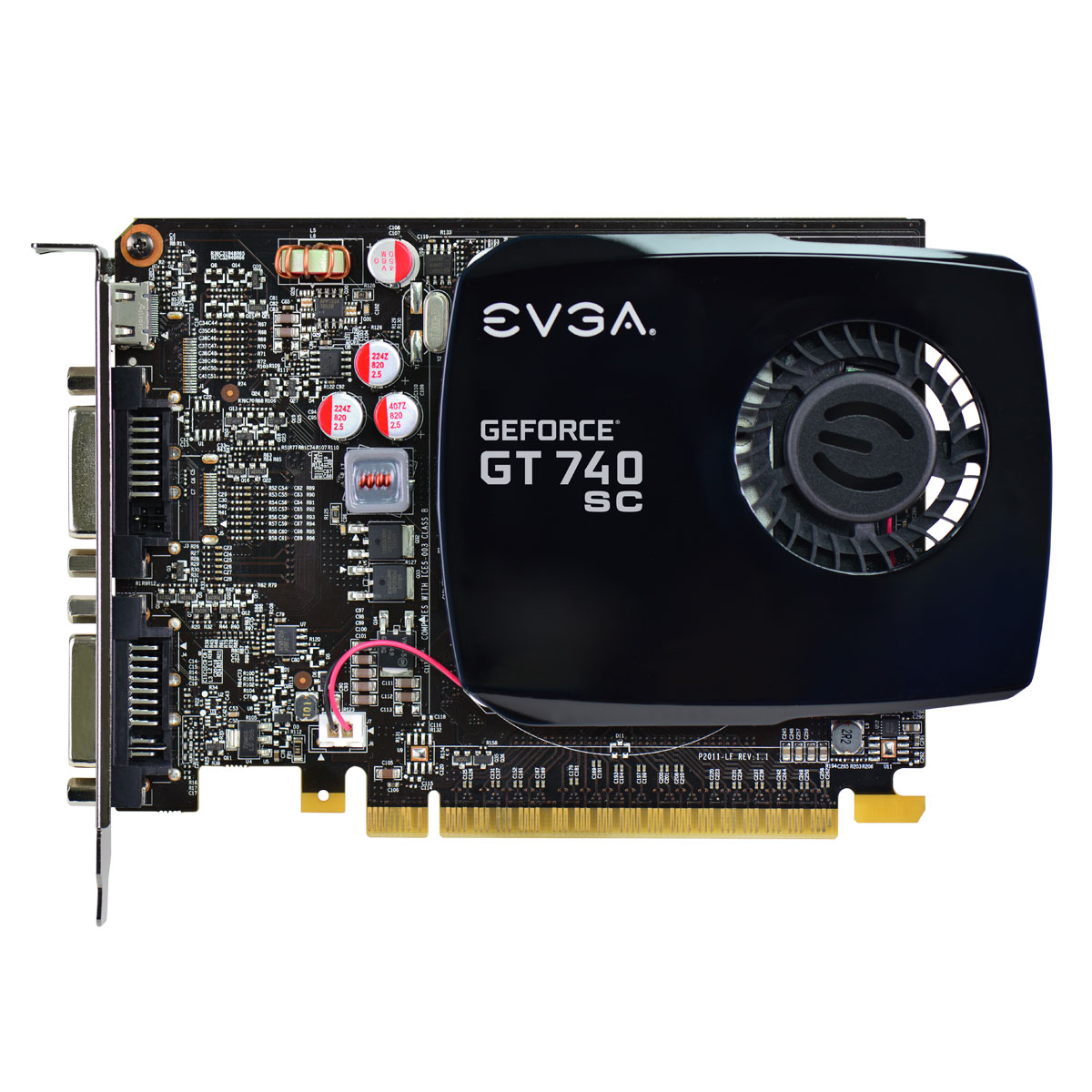 Placa de Vídeo Geforce GT740 2GB DDr3 128Bits 02G-P4-2742-KR - EVGA
